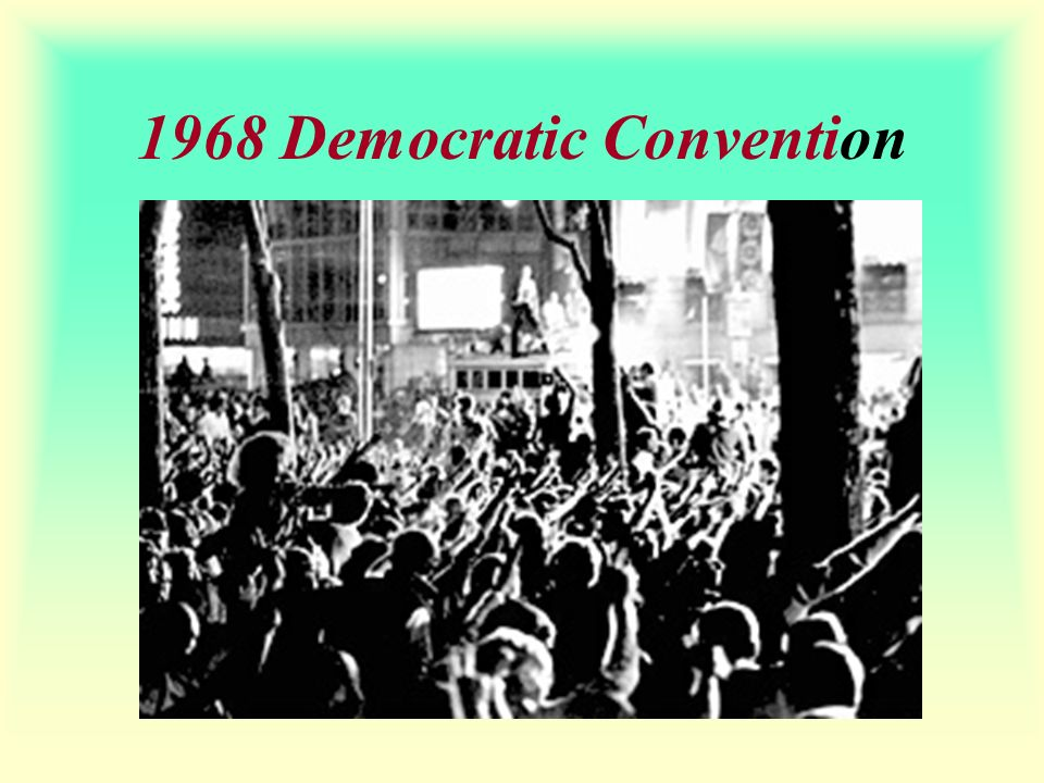 1968 Democratic Convention