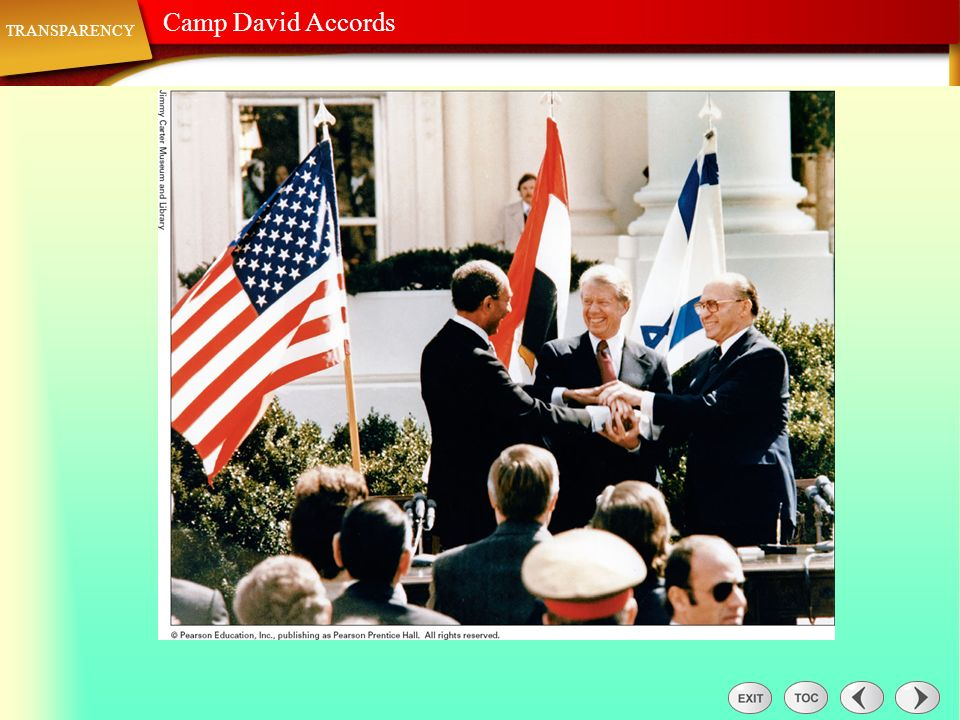 Transparency: Camp David Accords