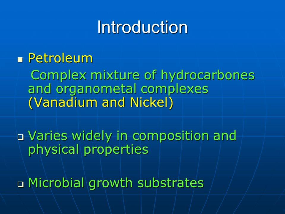 Introduction Petroleum