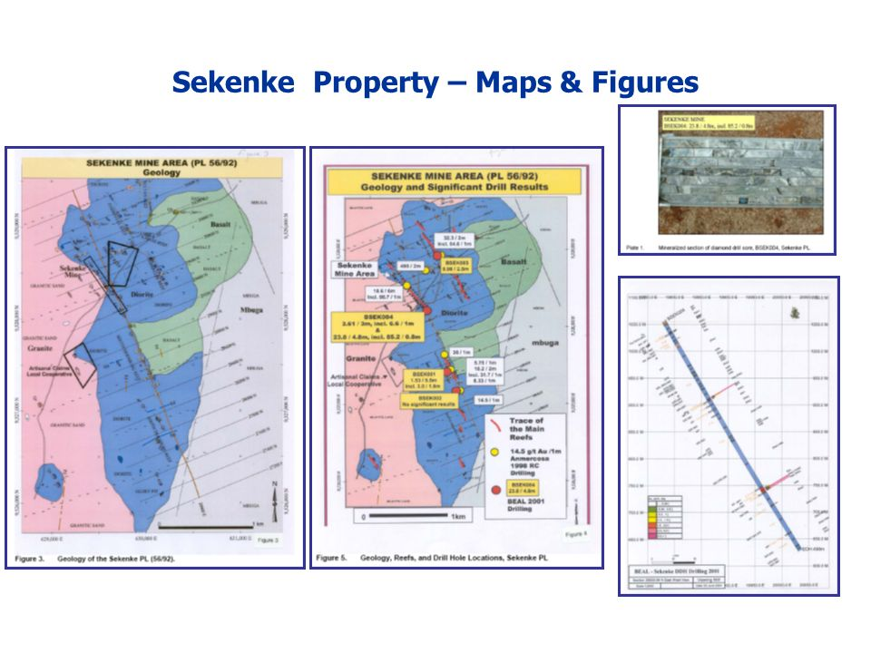 Sekenke Property – Maps & Figures