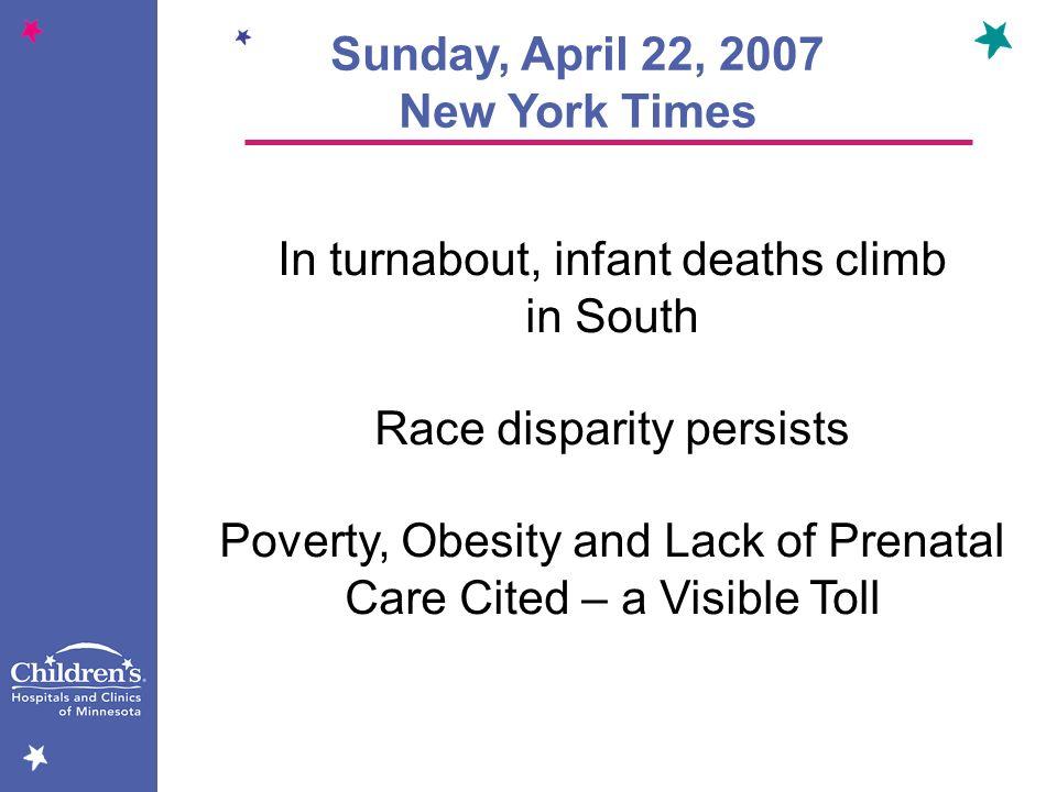 Sunday, April 22, 2007 New York Times