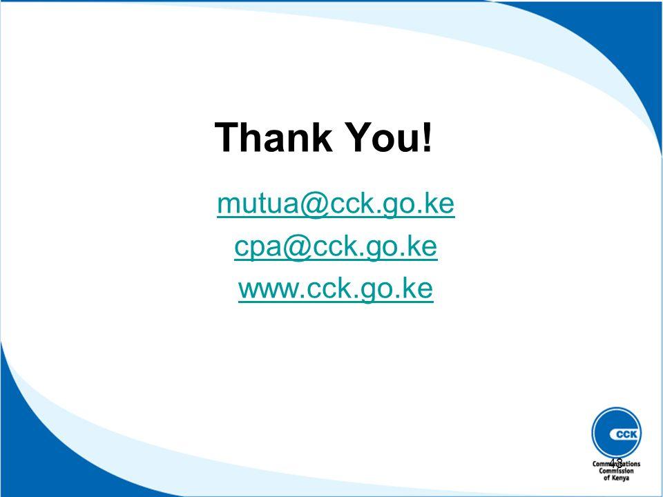 mutua@cck.go.ke cpa@cck.go.ke www.cck.go.ke