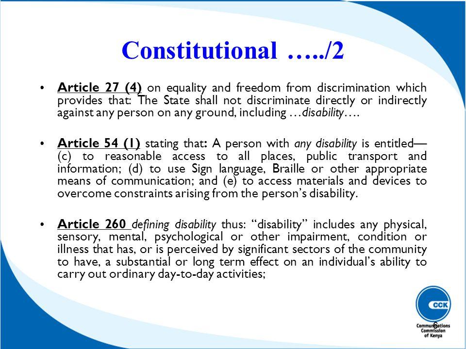 Constitutional …../2