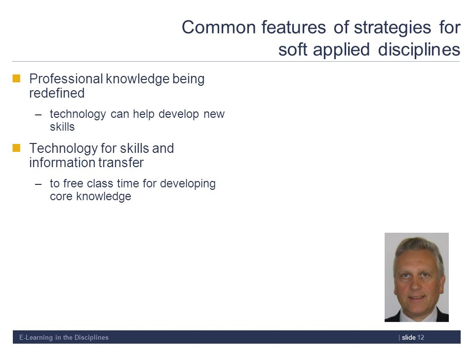 Common features of strategies for soft applied disciplines