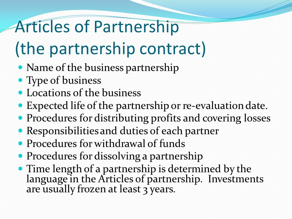 Forms Of Business Ownership - Ppt Video Online Download