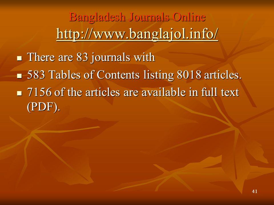 Bangladesh Journals Online http://www.banglajol.info/