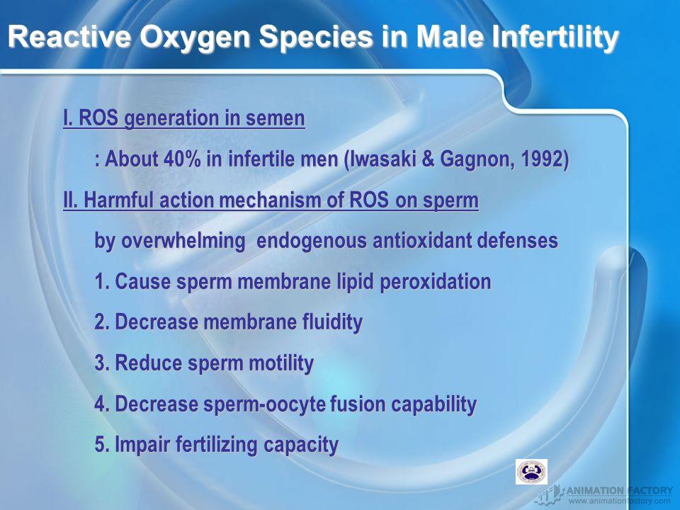 Reactive Oxygen Species in Male Infertility