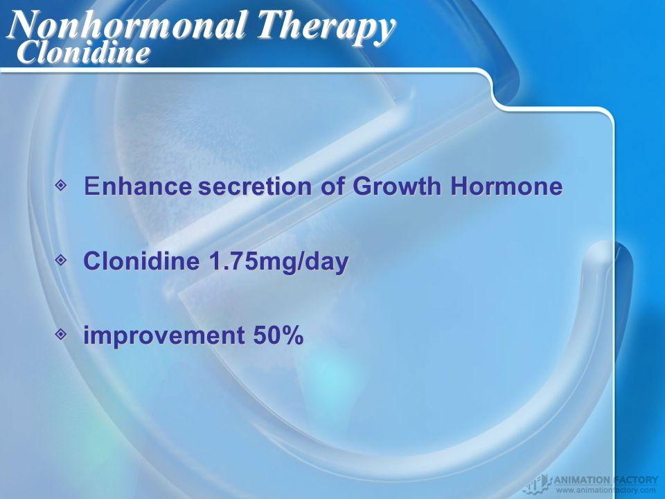Nonhormonal Therapy Clonidine