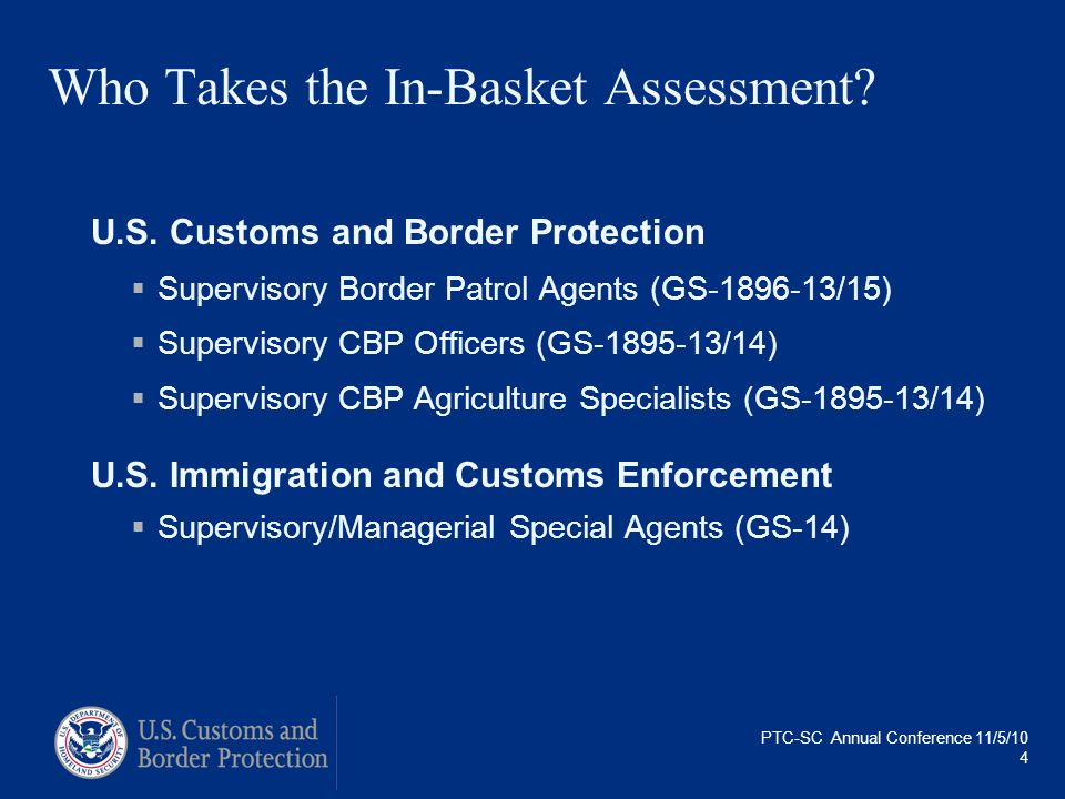 Who Takes the In-Basket Assessment