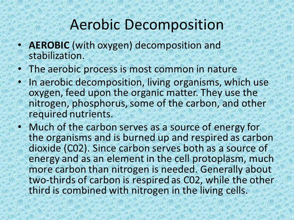Aerobic Decomposition