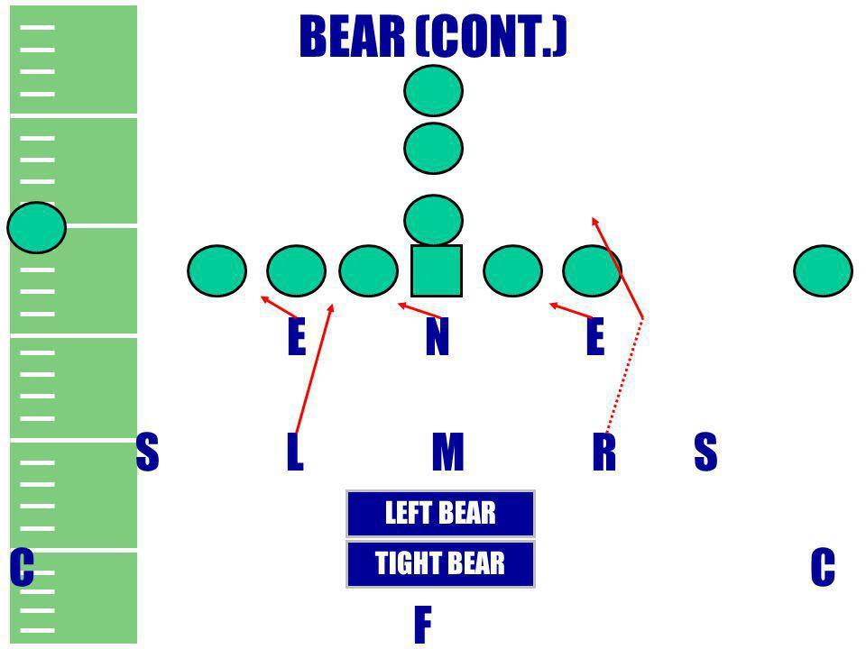 BEAR (CONT.) E N E. S L M R S.