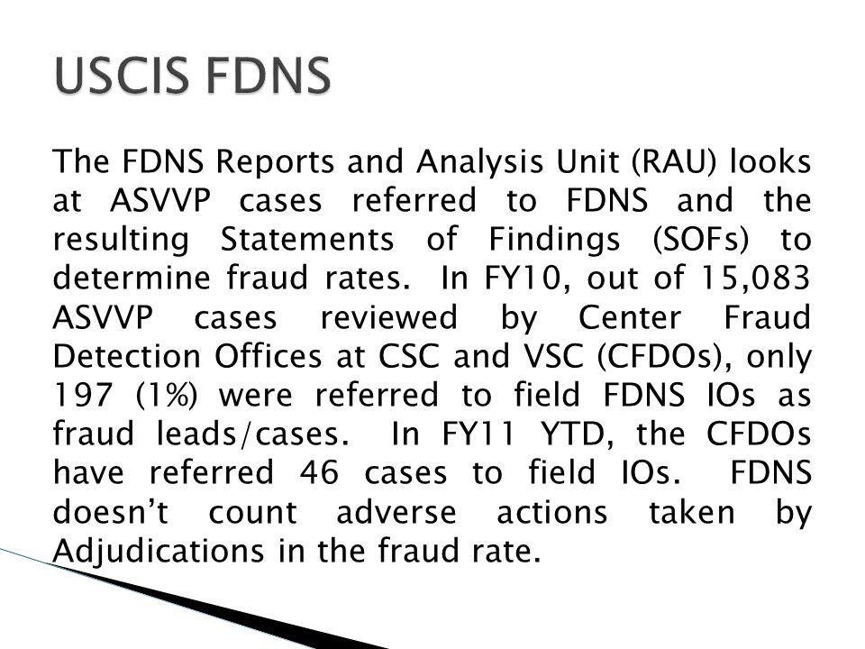 USCIS FDNS