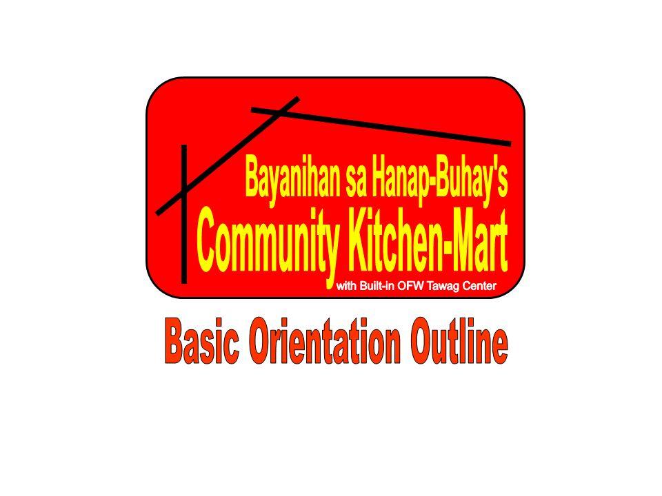Bayanihan sa Hanap-Buhay s Community Kitchen-Mart