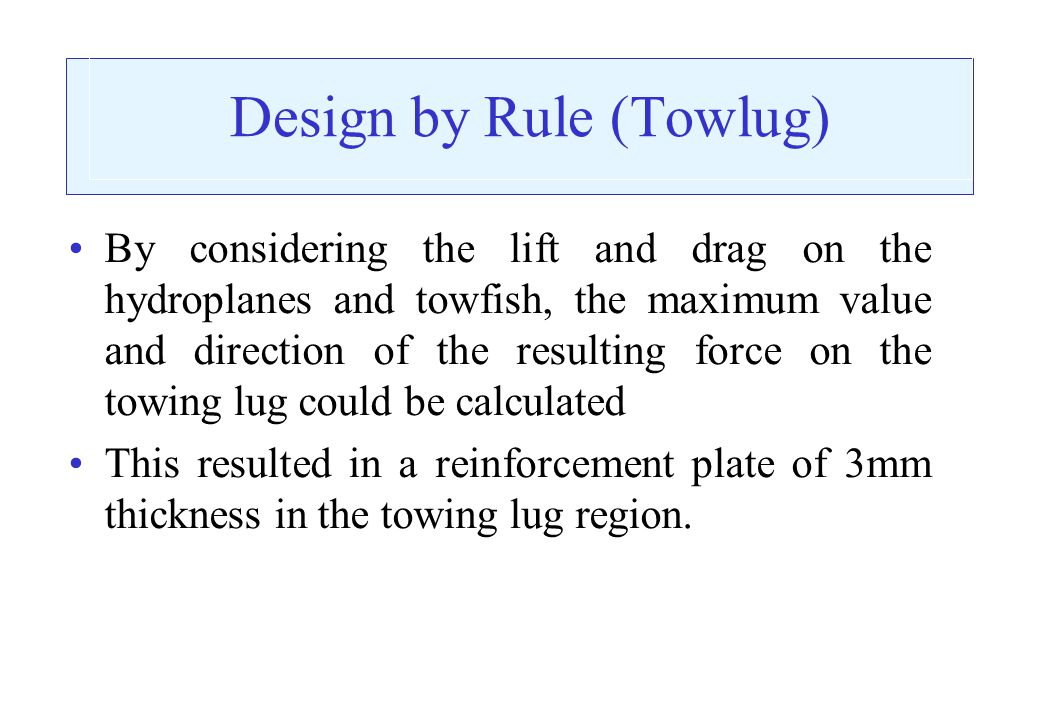 Design by Rule (Towlug)