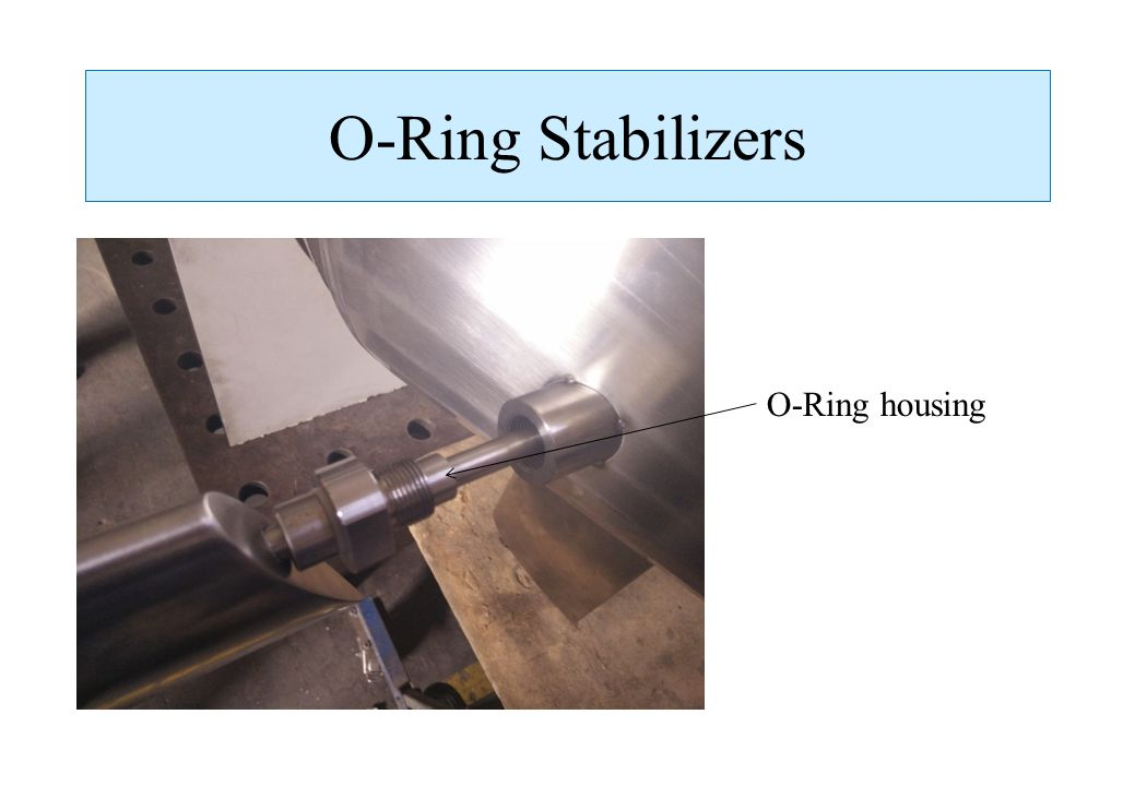 O-Ring Stabilizers O-Ring housing