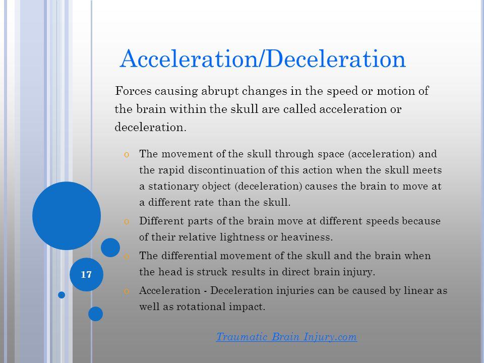Acceleration/Deceleration