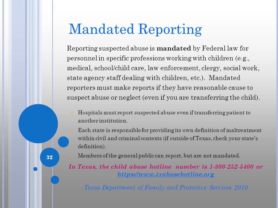 Texas Department of Family and Protective Services 2010