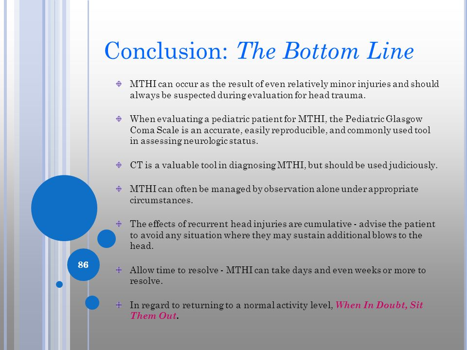 Conclusion: The Bottom Line