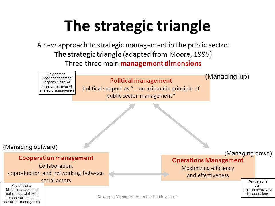 dimensions of strategic management The majority (80 per cent) of the respondents were managers in charge of   between strategic planning (seven dimensions of planning) and firm performance.