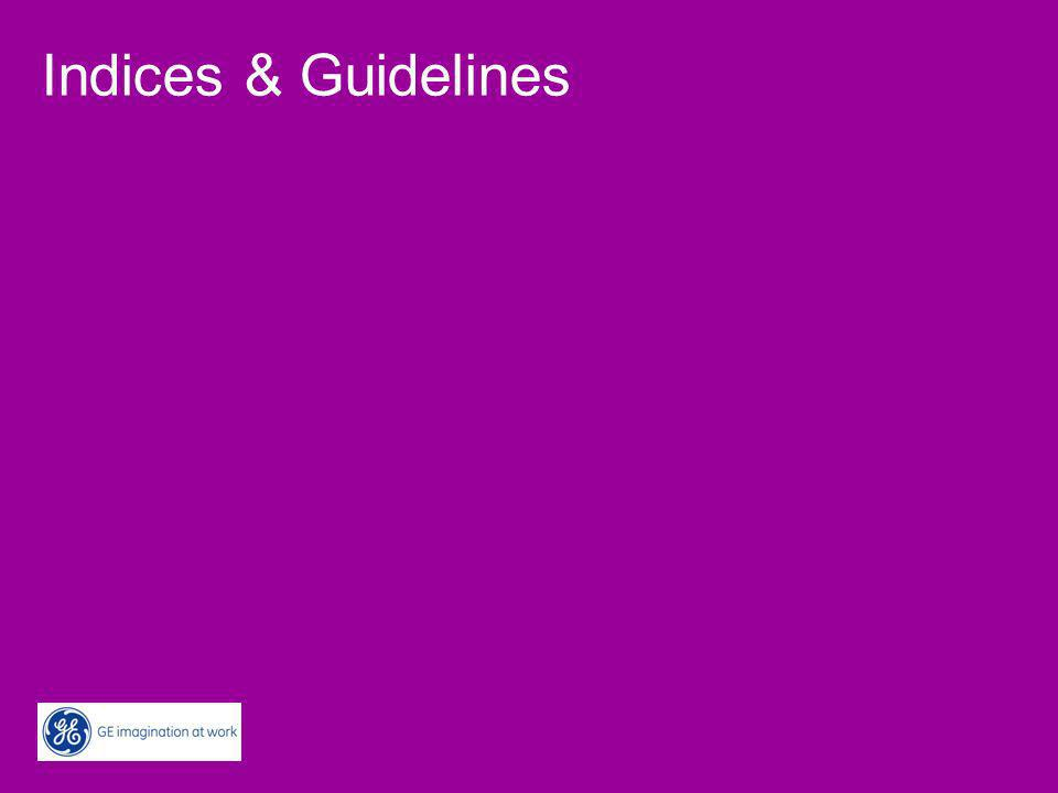 Indices & Guidelines