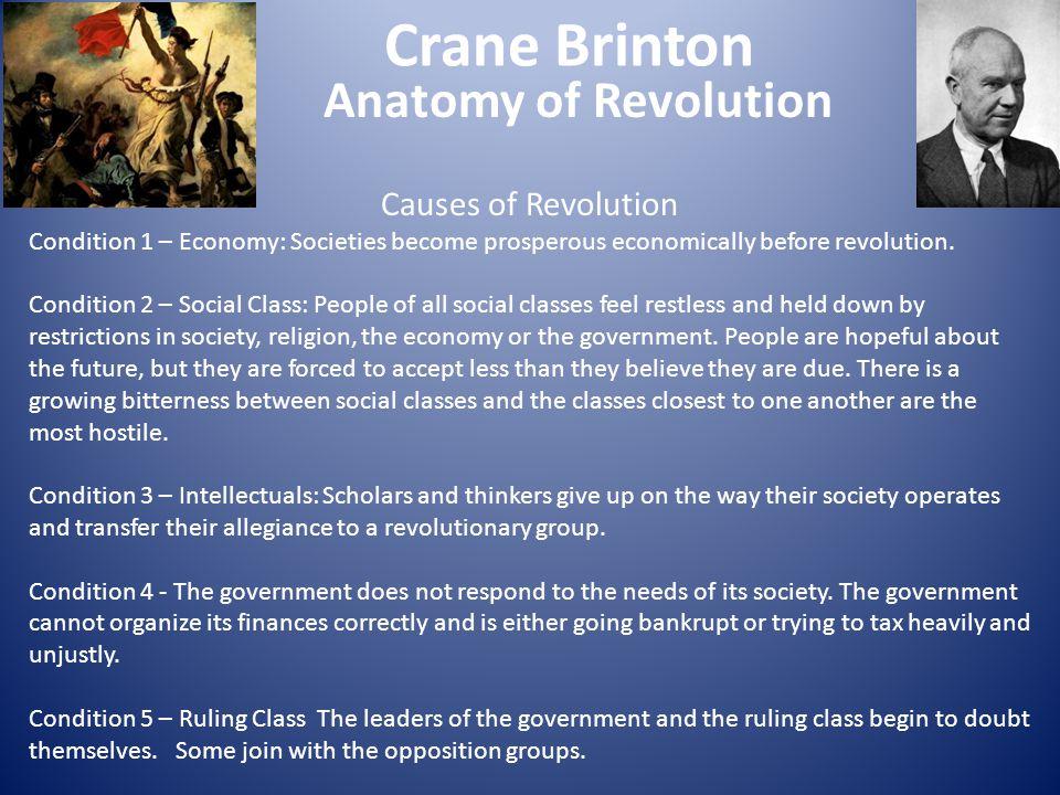 Crane Brinton Anatomy of Revolution Causes of Revolution