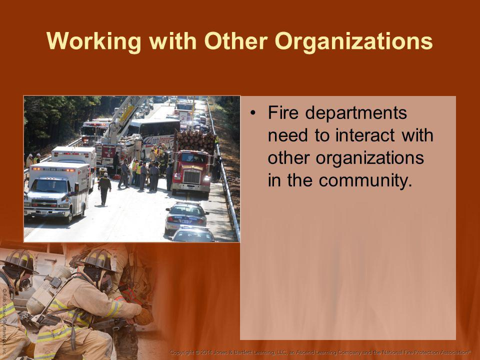 Working with Other Organizations