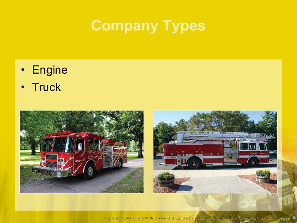 Company Types Engine Truck 29