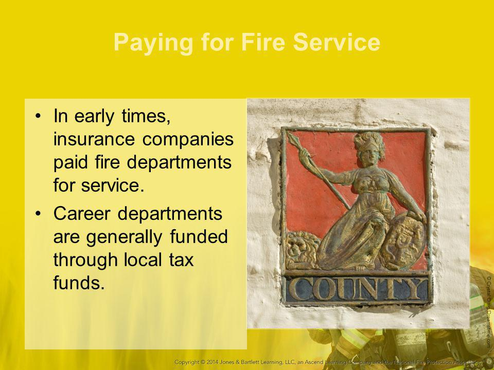 Paying for Fire Service