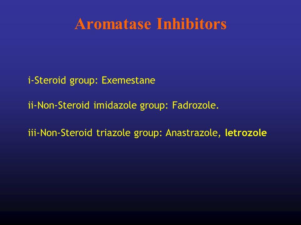 Aromatase Inhibitors i-Steroid group: Exemestane