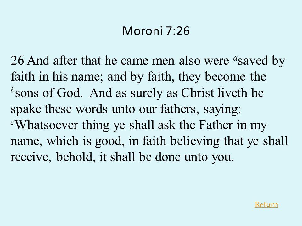 Moroni 7:26