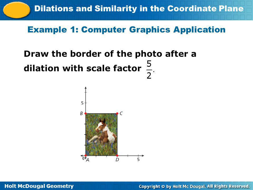 Example 1: Computer Graphics Application