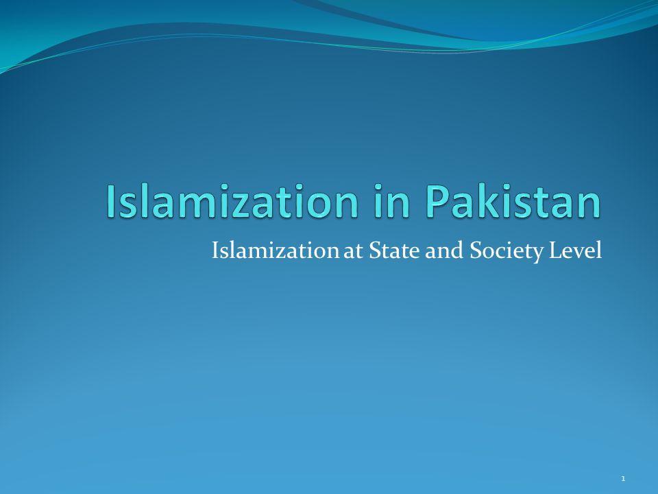 Islamization in Pakistan