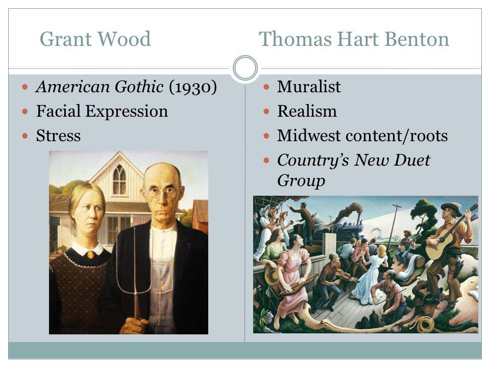 Grant Wood Thomas Hart Benton