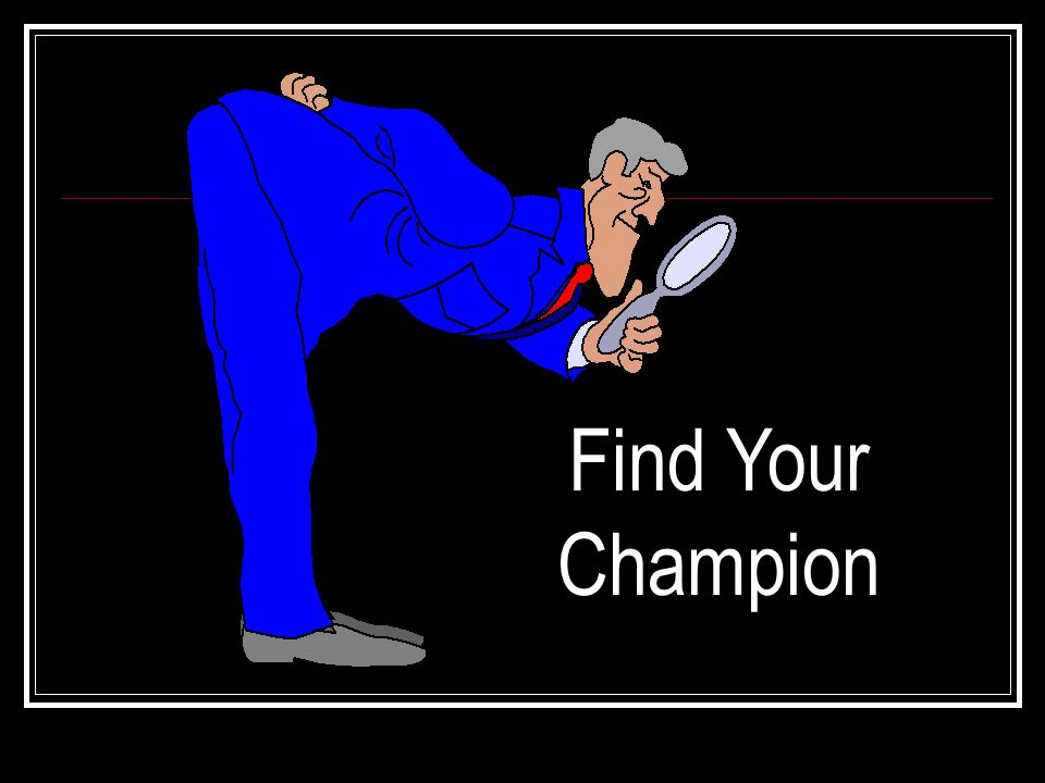 Find Your Champion