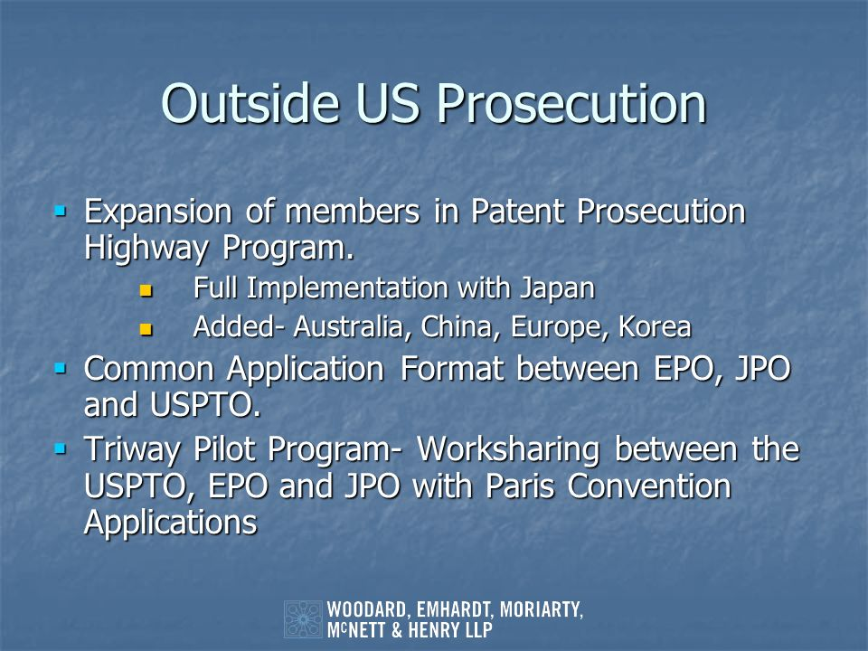 Outside US Prosecution