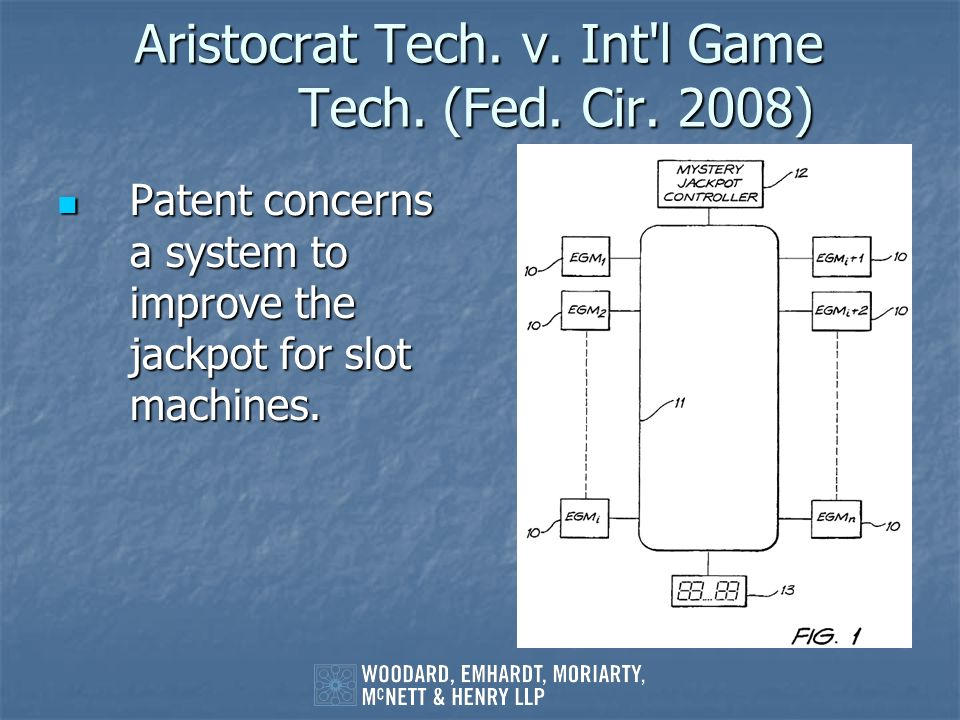 Aristocrat Tech. v. Int l Game Tech. (Fed. Cir. 2008)