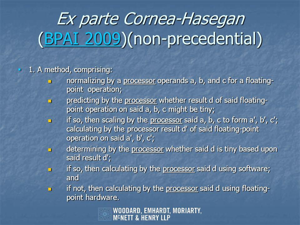Ex parte Cornea-Hasegan (BPAI 2009)(non-precedential)