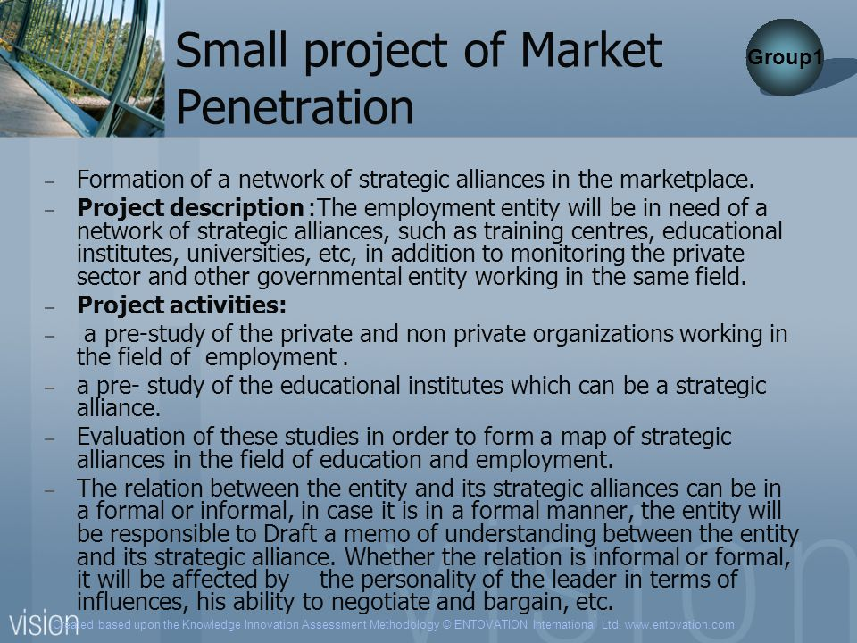 Small project of Market Penetration