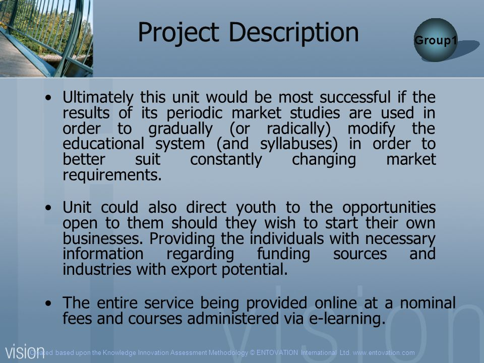 Project Description Group1.