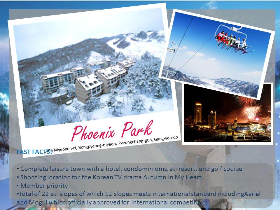 Phoenix Park FAST FACTS!