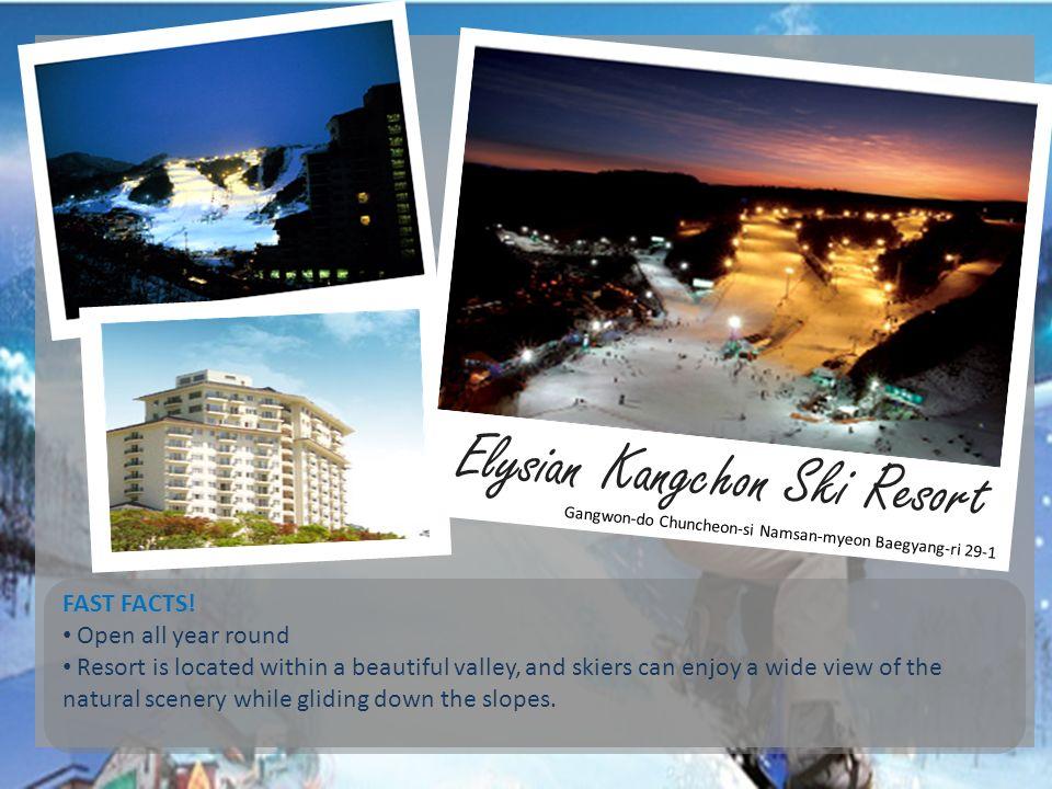 Elysian Kangchon Ski Resort
