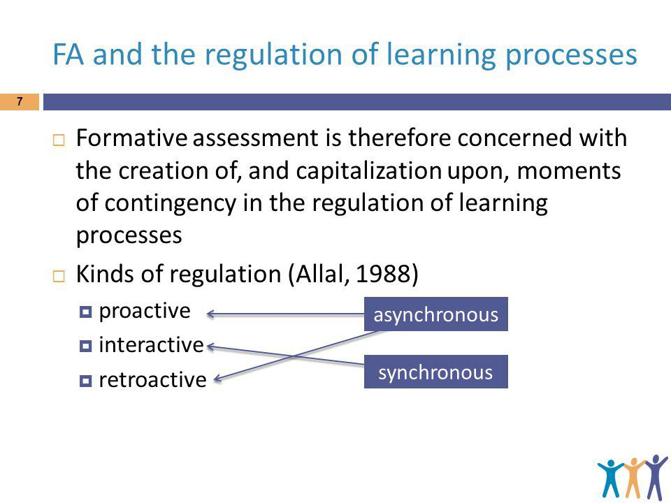FA and the regulation of learning processes