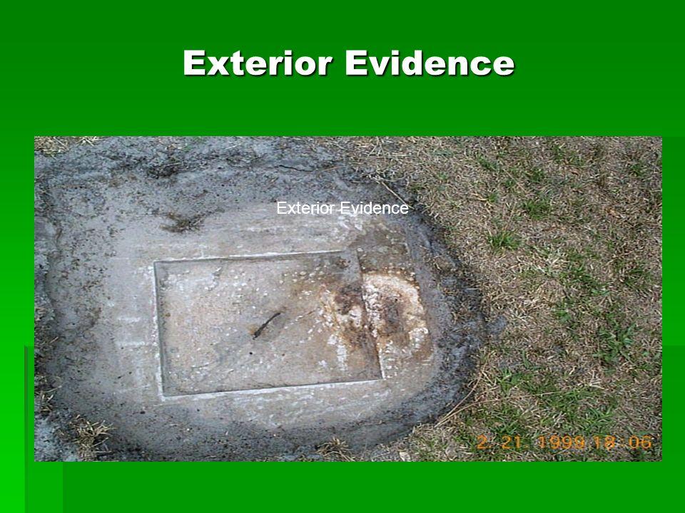 Exterior Evidence Exterior Evidence