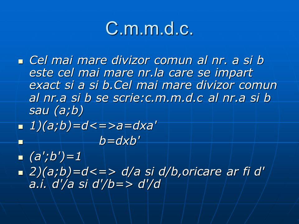 C.m.m.d.c.