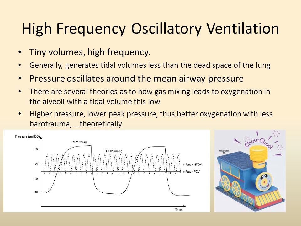High Frequency Oscillatory Ventilation