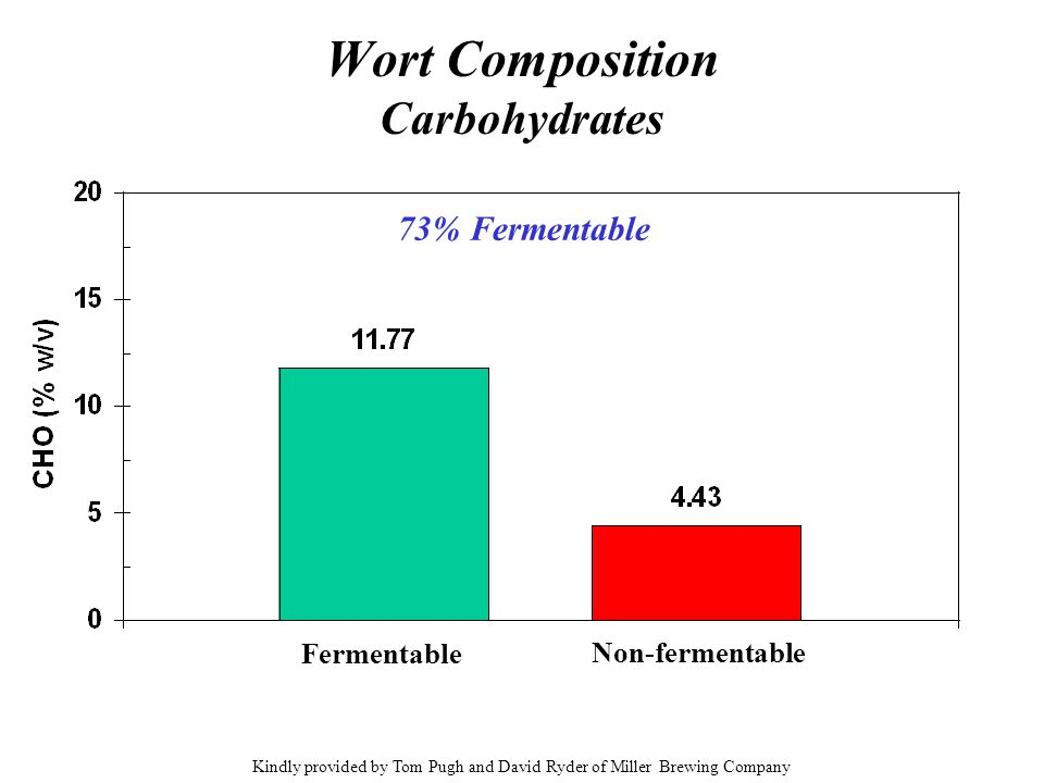 Wort Composition Carbohydrates