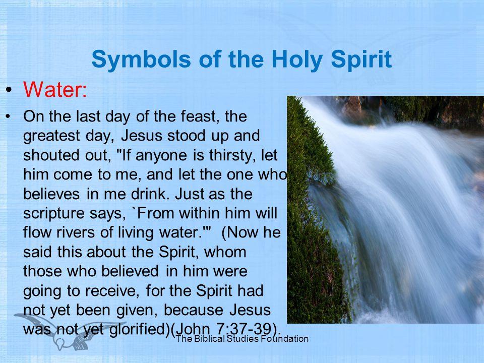 Symbols of the Holy Spirit