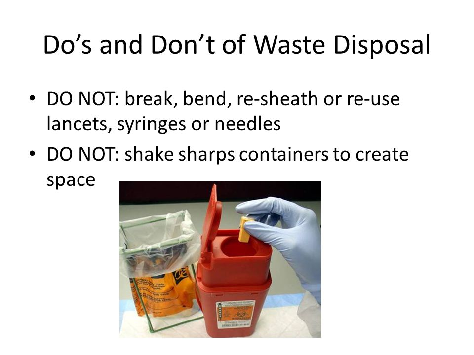 Do's and Don't of Waste Disposal