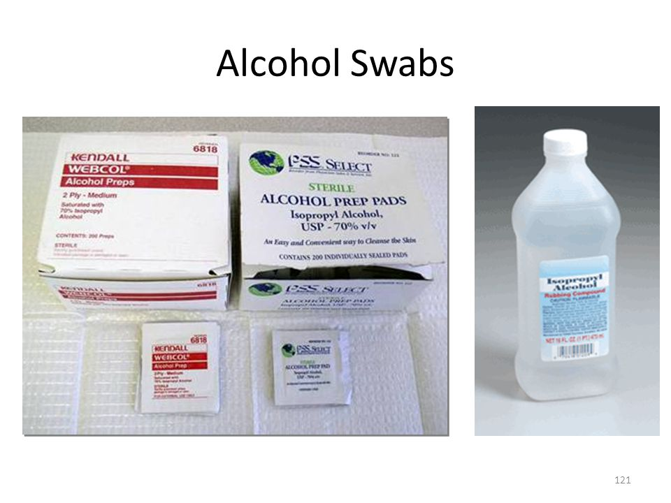 Alcohol Swabs