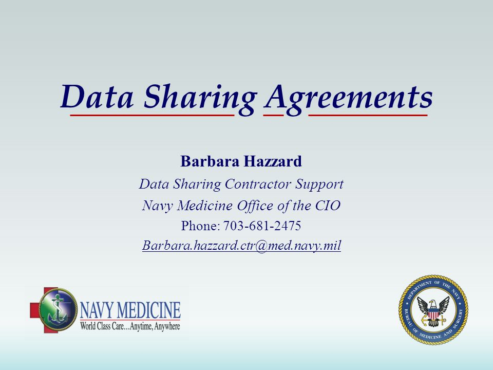 Data Sharing Agreements